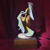 """Royal Doulton Figurine """"Dancers of the World - Mexican Dancer"""" with Original Custom Fitted Box and Certificate of Authenticity (3 of 9)"""