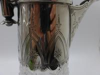 Antique Victorian Silver Claret Jug - Birmingham 1881 (3 of 10)