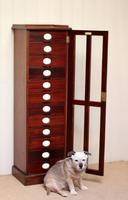 Unusual Mahogany Filing Cabinet (11 of 11)