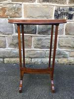 Antique Inlaid Mahogany Tray Top Table (8 of 10)