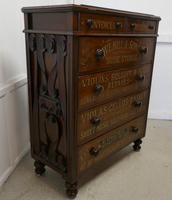 Large Victorian Mahogany Shop Display Music Cabinet (14 of 18)