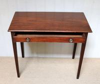 Early 19th Century Mahogany Side Table c.1820 (3 of 10)