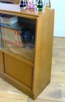 E Gomme G Plan Oak Mid Century Cabinet Bookcase Display Unit x 2 (15 of 18)