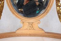 Neoclassical Marble Dressing Table Gilt Mirrored Vanity Satinwood (13 of 14)