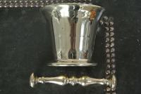 Good Victorian English 19th Century Brass Mortar & Pestle (4 of 4)