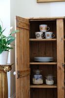 Tall Antique Pine Pantry Cupboard (7 of 15)
