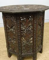 Anglo Indian Hand Carved Hardwood Table (3 of 6)