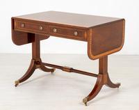 Regency Style Rosewood Sofa Table