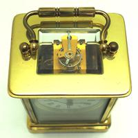 Classic Antique French 8-day Carriage Clock Timepiece c.1890 - L Epee & Camerer Cuss (10 of 10)