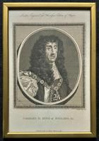 Rare Set of 12 Original 18th Century Engraving's of Kings & Queens of England (4 of 18)