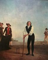 Large Fine Quality Vintage Cricket Cricketing Print - 18thc Georgian Manner (10 of 13)