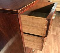 Georgian Mahogany Bow Front Chest of Drawers (10 of 16)
