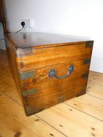 19thc Campaign Camphor Trunk (2 of 7)