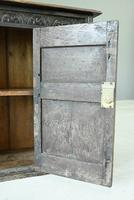 Small Carved Oak Cupboard (10 of 13)