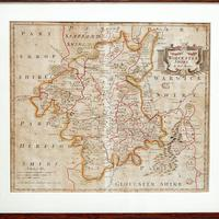 Robert Morden Worcester Map (2 of 6)