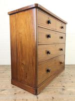 Victorian Mahogany Straight Front Chest of Drawers (7 of 11)