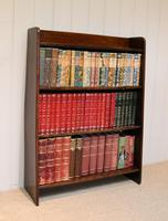 Solid Oak Graduated Bookshelves (2 of 8)