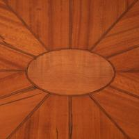 Inlaid Oval Satinwood Occasional Table (12 of 15)