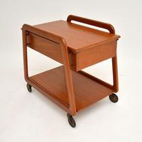 Danish Vintage Teak Sewing Table / Work Box (5 of 7)