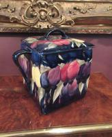 Antique Moorcroft Wisteria Box & Cover