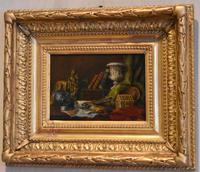 Pair of Still-life Oil Paintings by A Bonnefoy (10 of 13)