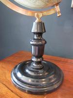 "1920's 8"" Papier Mache Terrestrial Globe (3 of 7)"