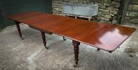 Very Good Late Georgian Extending Dining Table Seats 14/16 (3 of 21)