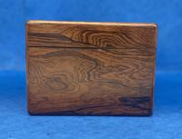 William IV Rosewood Jewellery Box Inlaid with Beautiful Mother of Pearl (6 of 14)