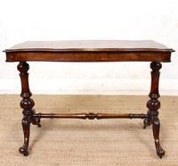 Walnut Writing Table Desk 19th Century Victorian (2 of 9)