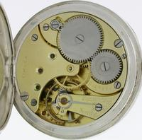 Silver 0.800 Omega Open Face Pocket Watch Swiss 1900 (7 of 7)