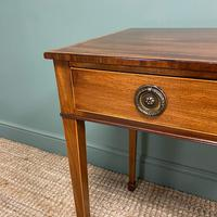 Stunning Georgian Mahogany Antique Side Table (5 of 8)