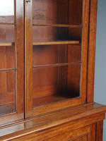Antique George IV Mahogany 2 Door Cabinet Bookcase (4 of 13)