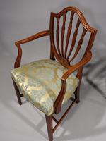 Exceptional Pair of George III Period Hepplewhite Elbow Chairs (7 of 7)
