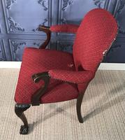 Mahogany Desk Chair c.1920 (6 of 8)