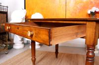 Desk Writing Table Victorian Pine (5 of 9)