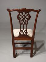 Well Carved Set of 6 George III Chippendale Period Mahogany Chairs (2 of 5)