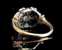 Antique Georgian Diamond & Pearl Ring, 18ct Gold (5 of 14)