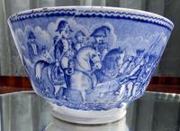 An Extremely Rare Pottery Napoleon Propaganda B&w Commemorative Bowl C.19thc (6 of 12)