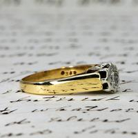 The Vintage 1979 Brilliant Solitaire Diamond Ring (3 of 5)