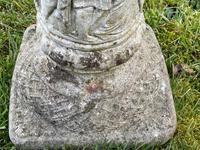 "Roman Style Stone Garden Bronze Floral Sundial ""Sunny Hour"" (16 of 30)"