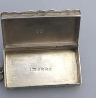 A Superb & Rare Victorian Novelty Solid Silver Vesta Box Lawrence Emanuel C.1888 (7 of 7)
