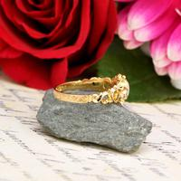 The Antique Victorian 1862 Pearl & Rose Cut Ornate Diamond Ring (2 of 8)