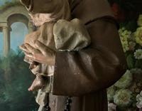 Bohumil Kafka RARE Carved Statue Sculpture St Anthony & Jesus (9 of 32)