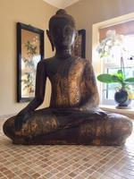 Large Bronze Bhudda, Thailand, 18th / 19th Century (4 of 4)