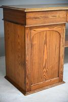 Large Pitch Pine Twin Pedestal Sideboard (11 of 12)