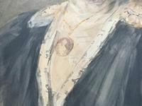 Henry Wright Kerr Exceptional Watercolour Portrait Painting (6 of 10)