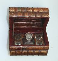 Scarce Novelty Drinking Set Contained in Secret Stack of Books c.1890 (5 of 15)