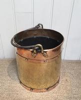 Late 19th Century Brass & Copper Bucket (6 of 9)
