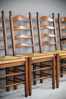 6 Ladderback Dining Chairs (6 of 11)