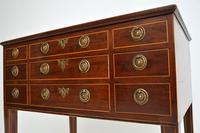 Antique Georgian Period Inlaid Mahogany Display Case Table (5 of 12)